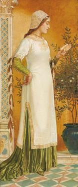 Laura Reading, 1885 by Walter Crane