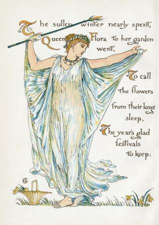 Myth, Flora by Walter Crane