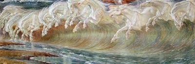 Neptune's Horses, 1892 by Walter Crane