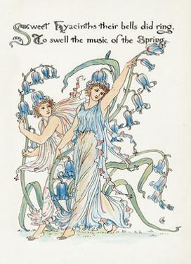 Plants, Hyacinthus by Walter Crane