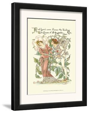 Shakespeare's Garden III (Rose) by Walter Crane