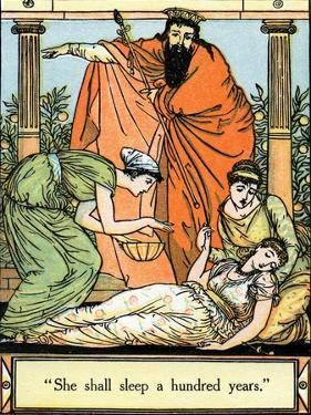 Sleeping Beauty illustrated by Walter Crane by Walter Crane
