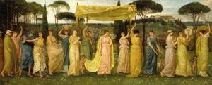The Advent of Spring, 1873 by Walter Crane