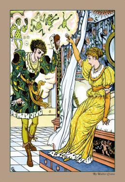 The Frog Prince, The Transformation, c.1900 by Walter Crane