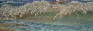 The Horses of Neptun, 1892 by Walter Crane