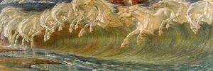 The Horses of Neptune, 1892 by Walter Crane