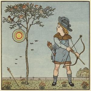 The Little Cock Sparrow by Walter Crane