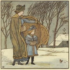 The North Wind Doth Blow by Walter Crane
