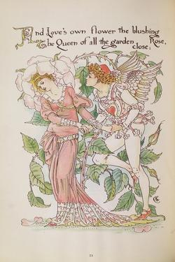 The Rose from 'Flora's Feast' by Walter Crane