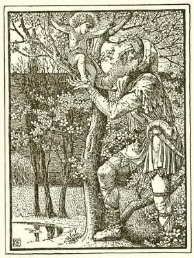 The Selfish Giant by Walter Crane