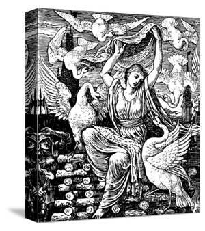 The Six Swans by Walter Crane