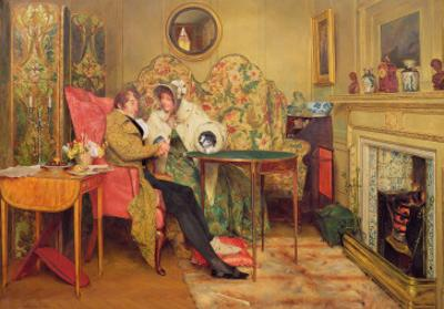 An Attentive Visitor by Walter Dendy Sadler