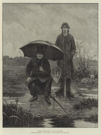 Great Expectations, from the Exhibition of the Society of British Artists by Walter Dendy Sadler