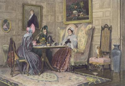 Scandal and Tea, Published 1893 by Walter Dendy Sadler