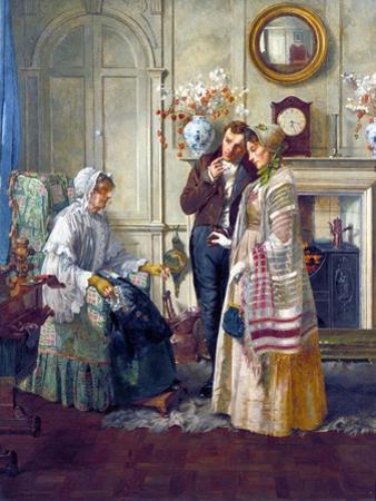 Sweethearts, 1892 by Walter Dendy Sadler