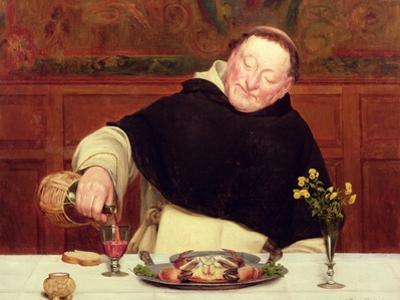 The Monk's Repast by Walter Dendy Sadler