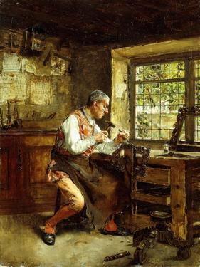 The Frame Maker by Walter Gay