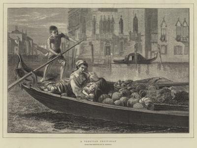 A Venetian Fruit-Boat