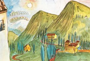 Walter Gramatte Granada Art Print Poster