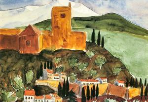 Walter Gramatte Granada II Art Print Poster