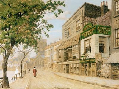 Cheyne Walk, Chelsea, 1857