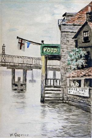 View of the Adam and Eve Inn, Chelsea, London, C1900
