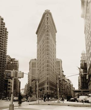 Flatiron Building by Walter Gritsik