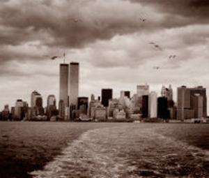 New York, New York, Manhattan Skyline by Walter Gritsik