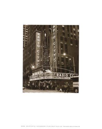 New York, New York, Radio City by Walter Gritsik