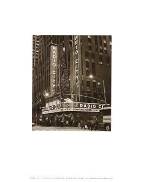 New York, New York, Radio City by Walter Gritsik