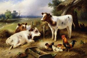 Farmyard Friends, 1923 by Walter Hunt