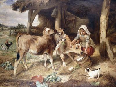 The Weanlings, 1889 by Walter Hunt