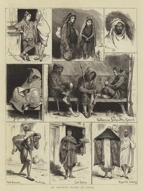 An Artist's Notes in Tunis by Walter Jenks Morgan