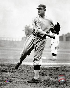Walter Johnson 1914 Action
