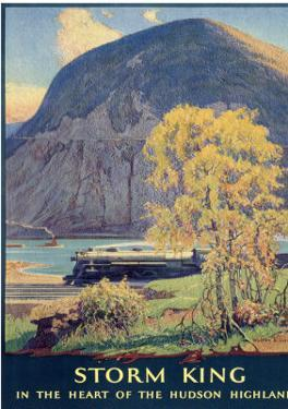 Storm King, New York Central Lines by Walter L. Greene