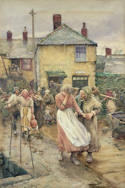 Among the Missing, 1884 by Walter Langley