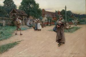 Betrayed, 1887 by Walter Langley