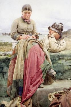 Lover and His Lass, 1884 by Walter Langley