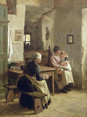 Mother Love by Walter Langley