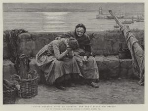 Never Morning Wore to Evening, But Some Heart Did Break by Walter Langley