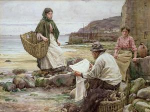 Newlyn: Catching Up with the Cornish Telegraph by Walter Langley