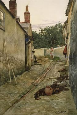 The Gossips by Walter Langley