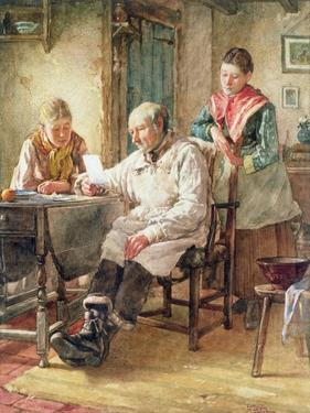 The Morning Post by Walter Langley