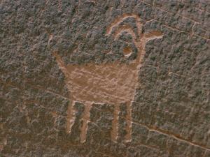 Anasazi Petroglyph by Walter Meayers Edwards