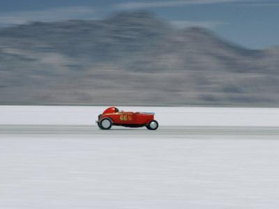 Speed Trials on the Bonneville Salt Flats