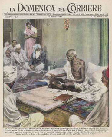 Mahatma Gandhi Indian Nationalist and Spiritual Leader by Walter Molini