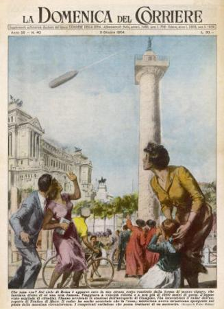 UFO is Seen by Many by Walter Molini