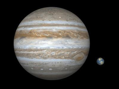 Jupiter And Earth Compared, Artwork