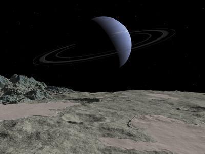 Neptune From Triton, Artwork