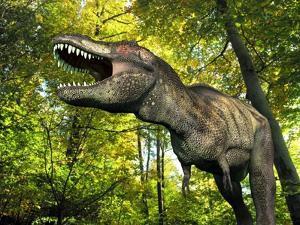 Tyrannosaurus Dinosaur, Artwork by Walter Myers